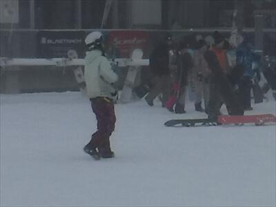 YouTuber虫くん-斑尾高原スキー場
