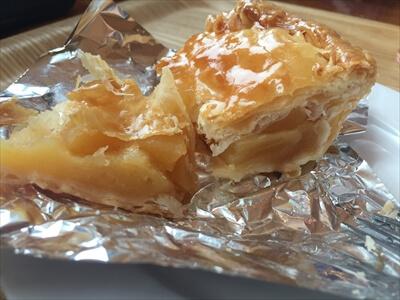 斑尾高原スキー場のトワサンクの無料りんごパイ
