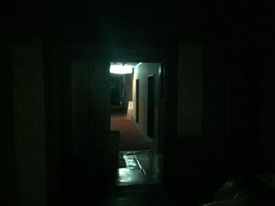 サンパティック斑尾-売店までの通路