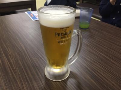 横須賀海辺の湯のビール