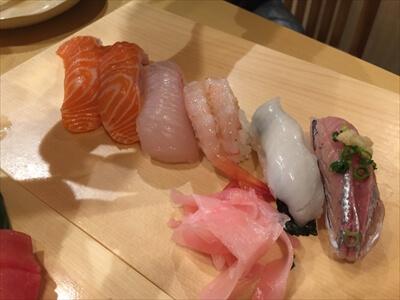 横須賀ひさご寿司の寿司