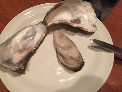 かき小屋 恵比寿-つきだしの牡蠣