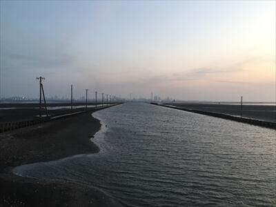 木更津市江川海岸のビュースポット-日本のウユニ塩湖