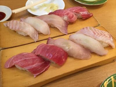 回転寿司やまとのやまと五貫