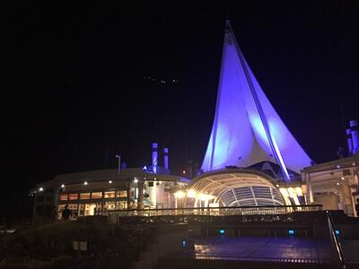 アクアライン海ほたるの帆