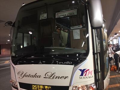 激安2000円。3列独立シートのバス。