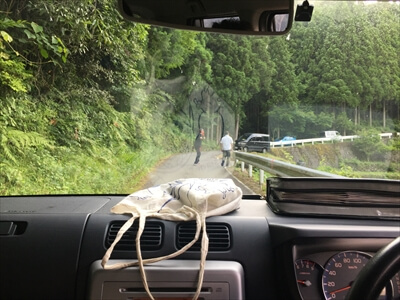 徳島県上勝町秘境バー『IRORI(いろり)』ライブの入り口