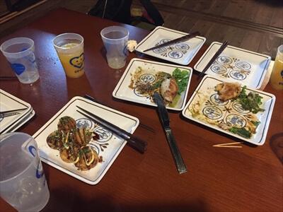 徳島県上勝町秘境バー『IRORI(いろり)』の食事