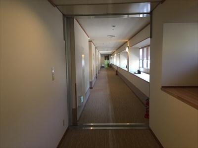 道後温泉旅館ふなやの廊下