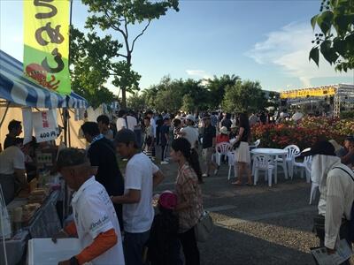 高松サンポート祭り『真夏の夜の夢』の出店