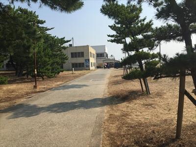 高松市女木島の道