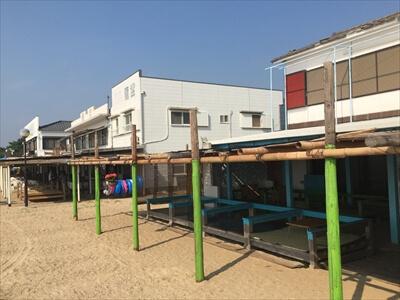 女木島(鬼ヶ島)の海の家