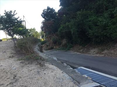 女木島の土砂崩れ