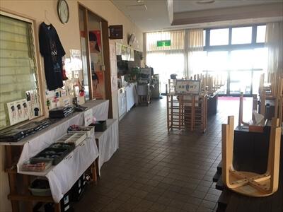 女木島おにの館の食堂