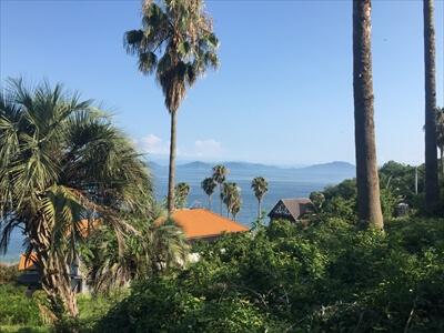 真鍋島の山頂からの景色