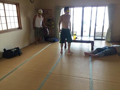 真鍋島・三虎の客室