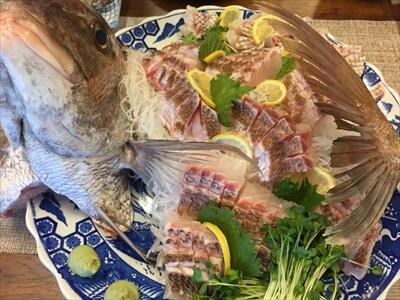 三虎の魚のお造り