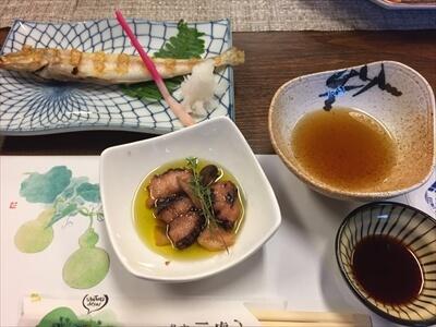 三虎の夕食