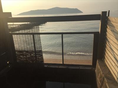 三虎の貸切風呂-海の見える露天風呂