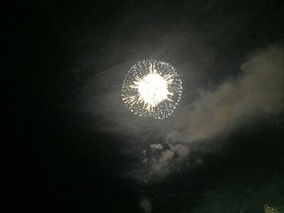 さぬき高松まつり花火大会の花火