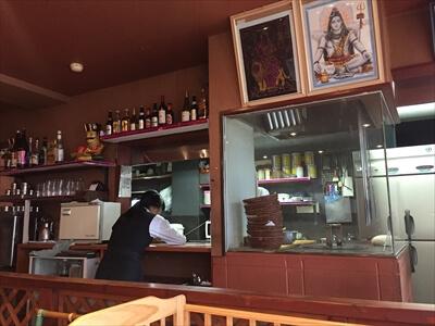 インド料理ムンバイパレス内