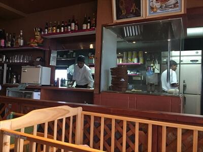 インド料理ムンバイパレスのインド人コック