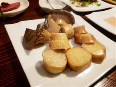 高松市『肉山』のエリンギ