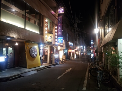 夜の高松-繁華街