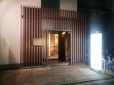 高松『一鶴』入口