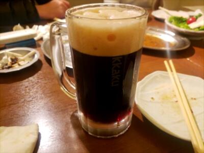 エビス黒生ビール-高松『一鶴』