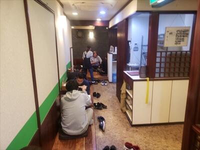 高松『鶴丸』2階席