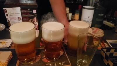 泡だらけのビール-高松の『MAISON DE BIERE(メゾンドゥビエール)』