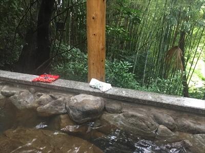 高松の奥座敷さぬき温泉の第2露天風呂