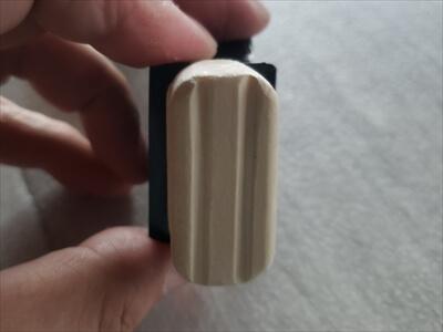 ハイエースのセパレートバー差込口取付けアタッチメントの加工部分