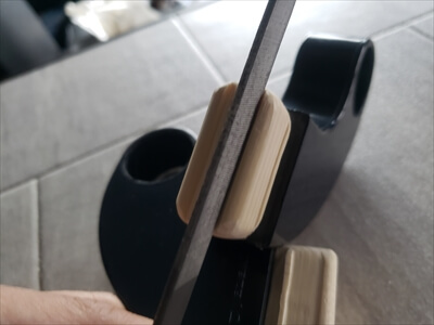 ハイエースのセパレートバー差込口取付けアタッチメントのDIY加工