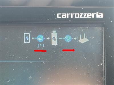 EZCastの接続状況