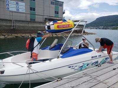 ヤマハSRV-20-レンタルボート