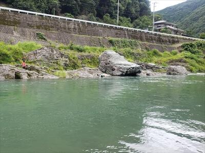 川遊び-二又の瀬-穴吹川