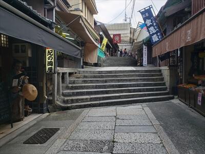 階段-金刀比羅宮への道