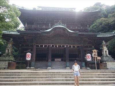 旭社-金刀比羅宮への道中