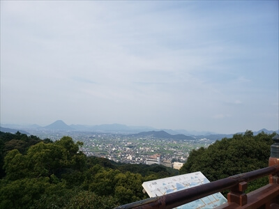 金刀比羅宮本宮からの景色-香川県