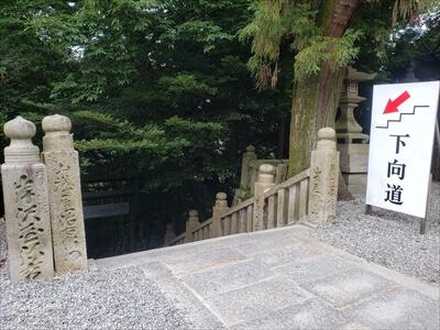 金刀比羅宮-本宮からの下り階段