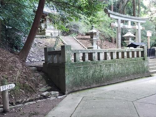 菅原神社-奥社『厳魂神社』への道中