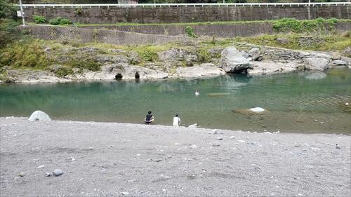 飛び込み-穴吹川『二股の瀬』