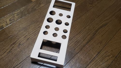 スイッチボックス完成-ハイエースのリチウムイオンサブバッテリー化