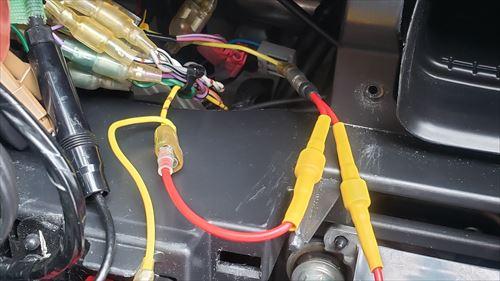 カーナビ常時電源にショットキーバリアダイオードを配線-カーナビをサブバッテリーで起動