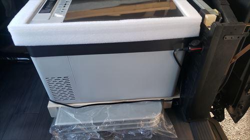 車載冷蔵庫を設置した配線処理やDIY箇所-ハイエース
