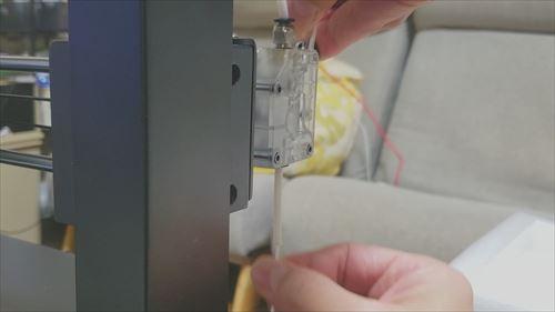 フィラメント通し-3Dプリンター