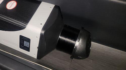 FFヒーターとダクト連結パイプ-3Dプリンターで作成