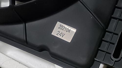 車用後付エアコンのファン-24V